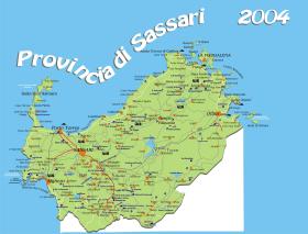 Sardegna Del Nord Cartina.Citta Di Alghero Mappa Del Nord Sardegna